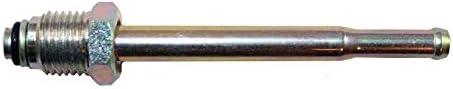 short 5//16 Steel to 5//16 Rubber Hose Fuel Line Adapter - 2 per Bag