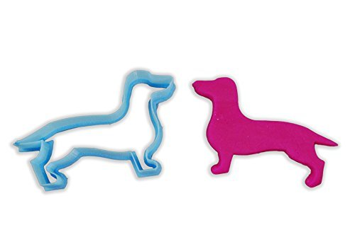 Dachshund Dog Breed Cookie Cutter - MINI - 2 Inches by CookieCutterKingdom