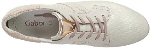Zapatillas Para Multicolor creme Panna rame 41 Gabor Mujer zOZw4Tqq