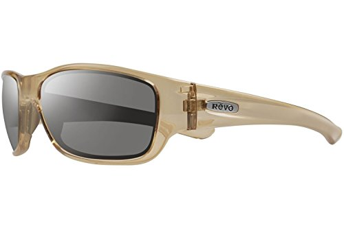 Revo Sunglasses Revo Heading Re 4058 Polarized Wrap Sunglasses, Shiny Sol, 58 - Sunglasses Men Revo