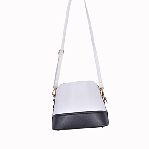 Small with Medium Crossbody CieKen Lightweight Deer White Clearance Pendant Bag Tassel with 08AZnanx