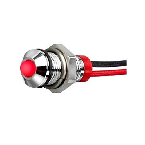 LED Panel Mount Indicators LED Indicator 6mm Prominent 24VDC IP67 (Q6P5BXXSR24E)