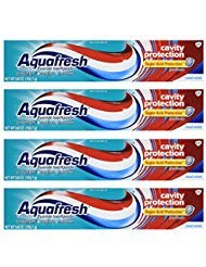 Aquafresh Cavity Protection Tube Cool Mint, 5.6 Ounce (Pack of 4)