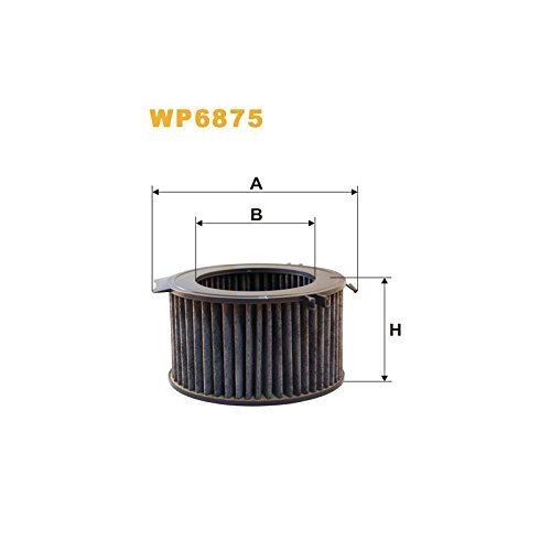 Wix Filters WP6875 Cabin Air Filter: