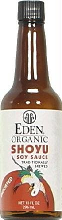 Eden Foods Sauce Soy Shoyu Organic, 10 (Eden Organic Soy Sauce)