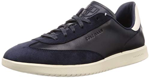 Cole Haan Men's Grandpro Turf Sneaker, Navy Ink Tumbled/Navy Ink Suede/White, 9 M US