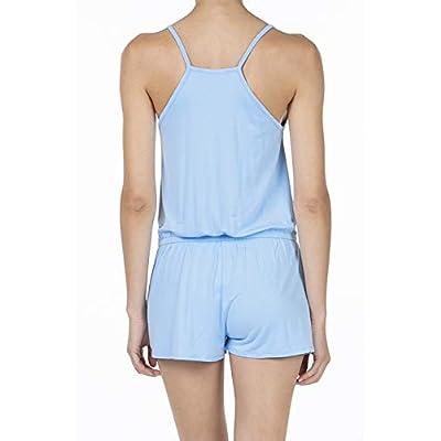 SHOP DORDOR Women's Summer Casual Spaghetti Strap Sleeveless Short Jumpsuit Rompers: Clothing