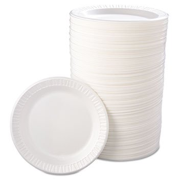 Quiet Classic Laminated Foam Dinnerware, Plate, 9