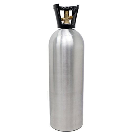 Victory 20 lb CO2 Tank- New Aluminm Cylinder with CGA320 Valve with Carry (Refillable Co2 Cylinder)