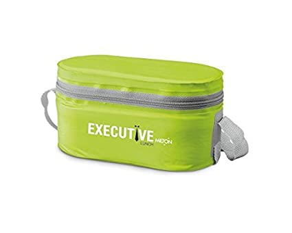 Buy Milton Executive Lunch Box Soft Insulated Tiffin Box (2 SS Container 27d745ff3dfa