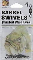 Danielson Barrel Swivels (Black, 12)