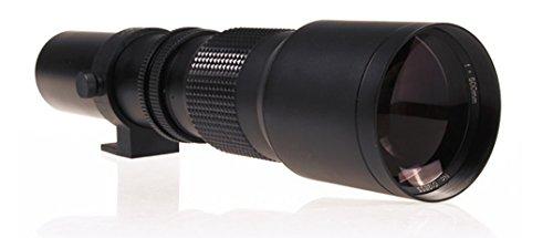 Super Telephoto 1000mm Manual Focus Lens for All Nikon D Series Cameras (Eg, D3200, D850, D7500, etc)