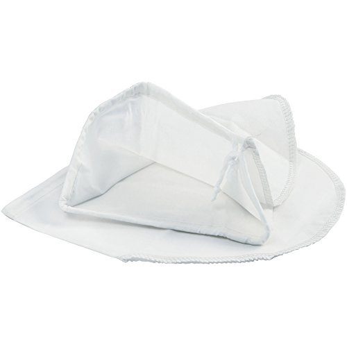 Norpro 615 Replacement Jelly Strainer Bag with Elastic Band,100% Cotton, 9 in L X 7 in W, as Shown -