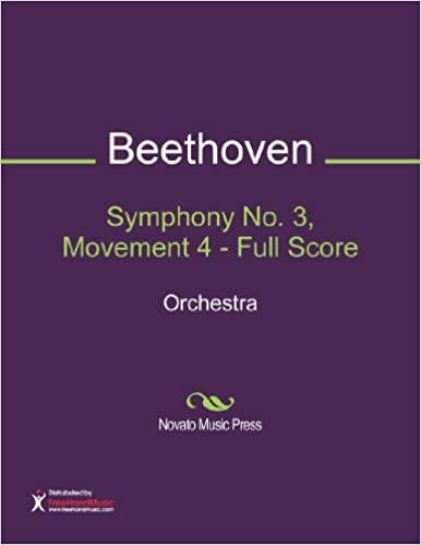 Symphony No. 3, Movement 4 - Full Score Sheet Music