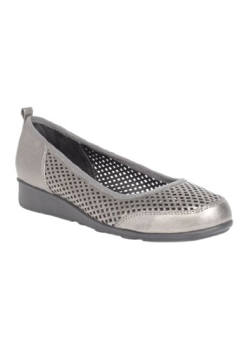 Jessica London Maude Slip-on In Peltro Tecnologia, 12 Ww