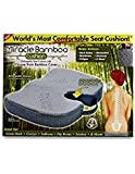 Miracle Bamboo Cushion Color Gray 2 Pack