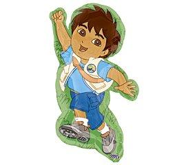 Go Diego Go Mylar Balloon Super Shape Pkg/1 -