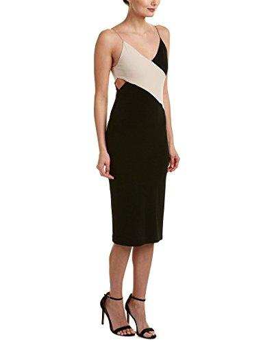 Blend 12 Dress Aurora Black alice olivia Silk Womens Sheath x6xzp4I