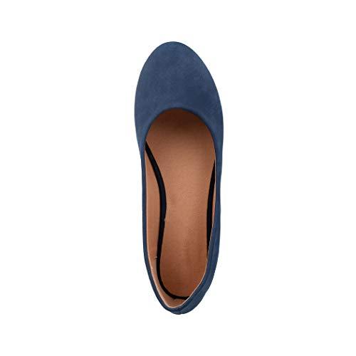 blue Toe Donna Scarpe Peep Dk Berlin Elara xwXng4a0q6