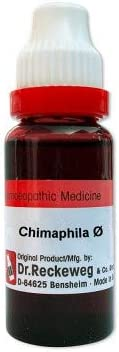 Dr. Reckeweg Germany Homeopathic Chimaphila Umbellata Mother Tincture Q (20ml) - by Exportmart