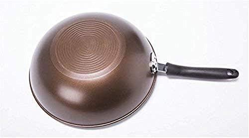 AFDK Antiadhésive, résistant à l'usure et facile à nettoyer Pan, Wok en métal, grils électriques