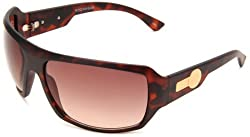Rocawear Men's R1162 MTS Plastic Sunglasses,Tortoise Frame/Gradient Brown Lens,One Size