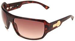 Rocawear Men's R1162 MTS Plastic Sunglasses,Tortoise Frame/Gradient Brown Lens,One Size