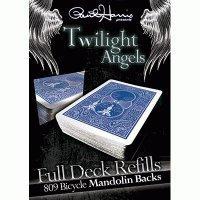 MMS Paul Harris Presents Twilight Angel Full Deck (Blau Mandolin) by Paul Harris