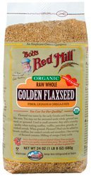 Bob's Red Mill Organic Golden Flaxseed - 24 oz by Bob's Red Mill