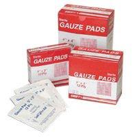 Swift 067422 First Aid 2'' X 2'' Sterile Gauze Pad (1/BX)