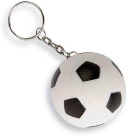 GÁRGOLA Llaveros pelotas goma de futbol (Lote 20 ud.) Balon de ...