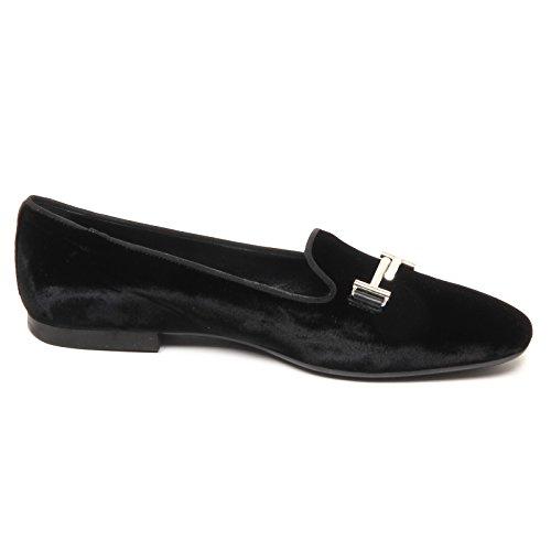 Woman Donna Velvet Nero Ballerina E2822 Velluto Tod's Shoe Scarpe qB8Pnatw