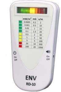ENV RD-10 | EMF Meter Electromagnetic Field Radiation Mini Handheld  Detector | RF - LFM - LFE | Android & PC Connection