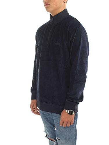 Homme Stussy 1140103 XL Bleu Shirts Sweat wqtrqZp