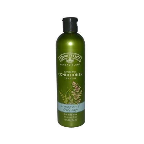 Natures Gate - Natures Gate Lemongrass and Clary Sage Conditioner - 12 oz (Conditioner Volumizing Natures Gate)