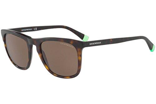 Emporio Armani EA4105 Sunglasses Matte Havana w/Brown Lens 508973 EA ()
