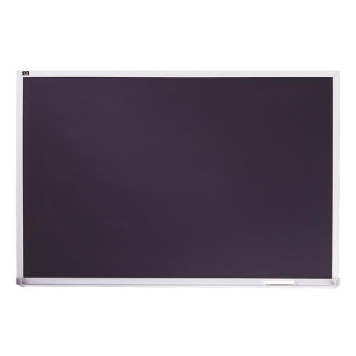 Quartet Porcelain Chalkboard, 2 x 3 Feet, Black with Aluminum Frame - Porcelain 3 2 X