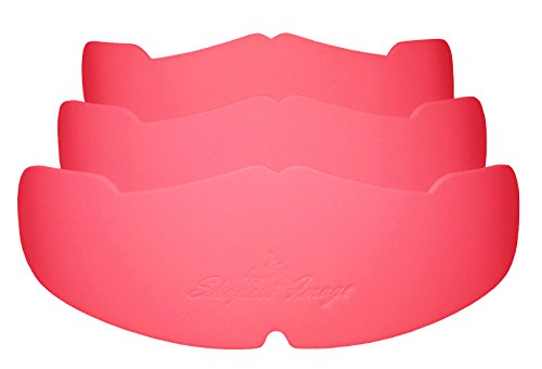3pk-pink-manta-ray-baseball-caps-crown-inserts-for-low-profile-caps-hat-shapers-hat-liner-hat-stretc