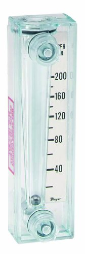 Dwyer Mini-Master Series MMA Flowmeter, Range 0.3-3.5 LPM Water (Master Meter compare prices)
