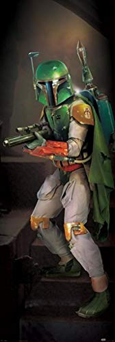 Pyramid International Star Wars Boba Fett Door Poster 21x62 Inch