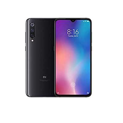 Xiaomi MI 9 Smartphone, 64 GB, display AMOLED 6.39″, 2280×1080, Snapdragon 855 Octa-core, 6 GB RAM, Tripla Fotocamera 48+16+12 MP, Nero Onice [Versione italiana]