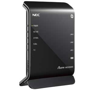 NEC Aterm WG1200HS 11ac/n/a(5GHz帯)&11n...