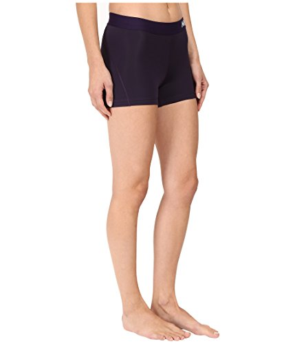 Nike Women's Pro Cool 3-Inch Training Shorts (Purple Dynasty/Bleached Lilac/X-Small) by Nike (Image #4)