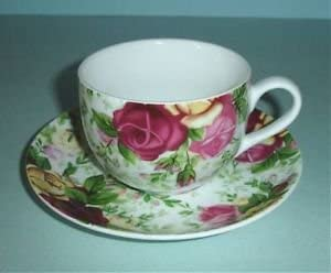 Royal Albert COUNTRY ROSE CHINTZ Tea Cup /& Saucer New