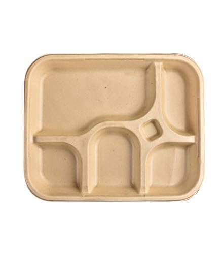 SMS HYDROTECH Naturel Tableware Biodegradable Disposable Eco-Friendly 11.5″/5 Thali (Pack of 25) Price & Reviews