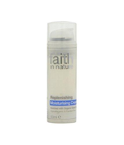 Faith In Nature Replenishing Moisturising Cream 50ml (2 Pack)