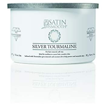 Satin Smooth Silver Tourmaline Hair Removal Wax 14oz. 14oz.