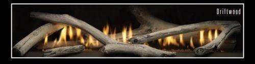 (Empire Comfort Systems Ceramic Fiber 5 Piece Driftwood Fireplace Log Set- LOGS ONLY )