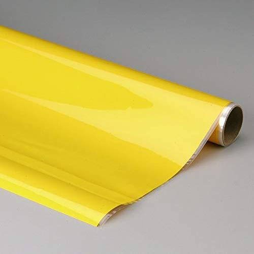 Top Flite MonoKote Flexible High-Gloss Polyester Covering Film (Opaque Yellow)
