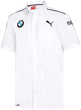 BMW Motorsport Team Camiseta de Puma; Señor Camisa; Color Blanco ...